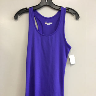 Primary Photo - BRAND: UNDER ARMOUR STYLE: ATHLETIC TANK TOP COLOR: PURPLE SIZE: M SKU: 313-31328-36739