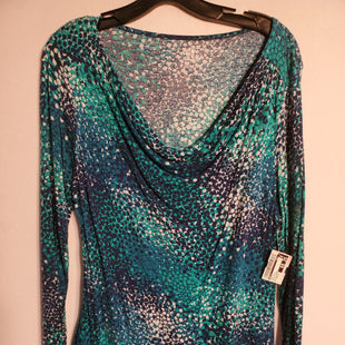 Primary Photo - BRAND: APT 9 STYLE: TOP LONG SLEEVE COLOR: BLUE GREEN SIZE: PETITE LARGE SKU: 313-31328-27600