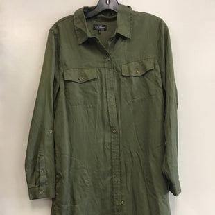 Primary Photo - BRAND: LUCKY BRAND STYLE: DRESS SHORT LONG SLEEVE COLOR: GREEN SIZE: M SKU: 313-31349-2789