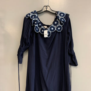 Primary Photo - BRAND: ANN TAYLOR O STYLE: DRESS SHORT LONG SLEEVE COLOR: NAVY SIZE: S SKU: 313-31344-19509