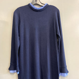 Primary Photo - BRAND: VINCE CAMUTO STYLE: DRESS SHORT LONG SLEEVE COLOR: NAVY SIZE: M SKU: 313-31344-18155