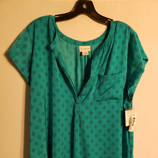 Primary Photo - BRAND: LIZ CLAIBORNE STYLE: TOP SHORT SLEEVE COLOR: TURQUOISE SIZE: XL SKU: 313-31344-6437
