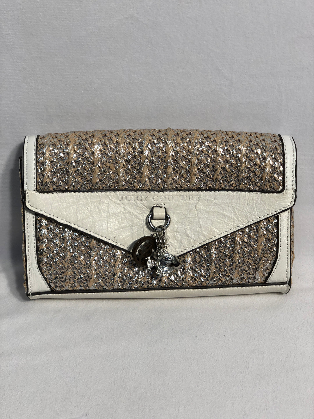 Primary Photo - BRAND: JUICY COUTURE<BR>STYLE: WRISTLET<BR>COLOR: STRAW<BR>SKU: 313-31328-32126