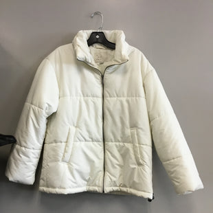 Primary Photo - BRAND: A NEW DAY STYLE: COAT SHORT COLOR: WHITE SIZE: S SKU: 313-31332-7754