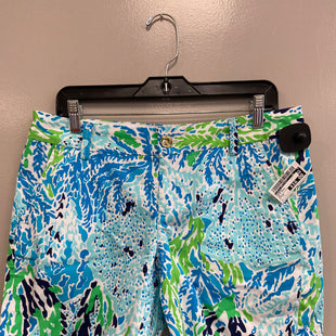 Primary Photo - BRAND: LILLY PULITZER STYLE: SHORTS COLOR: BLUE GREEN SIZE: 8 SKU: 313-31332-11668