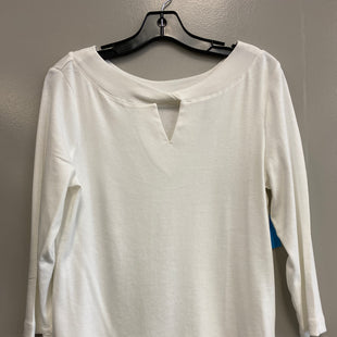 Primary Photo - BRAND: CHICOS STYLE: TOP LONG SLEEVE BASIC COLOR: WHITE SIZE: M SKU: 313-31311-30706