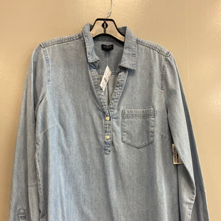 Primary Photo - BRAND: J CREW STYLE: TOP LONG SLEEVE COLOR: DENIM SIZE: M SKU: 313-31332-11448