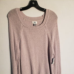 Primary Photo - BRAND: OLD NAVY STYLE: SWEATER LIGHTWEIGHT COLOR: LAVENDER SIZE: XL SKU: 313-31328-30339