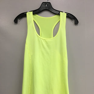 Primary Photo - BRAND: DANSKIN NOW STYLE: ATHLETIC TANK TOP COLOR: NEON SIZE: L SKU: 313-31349-1615