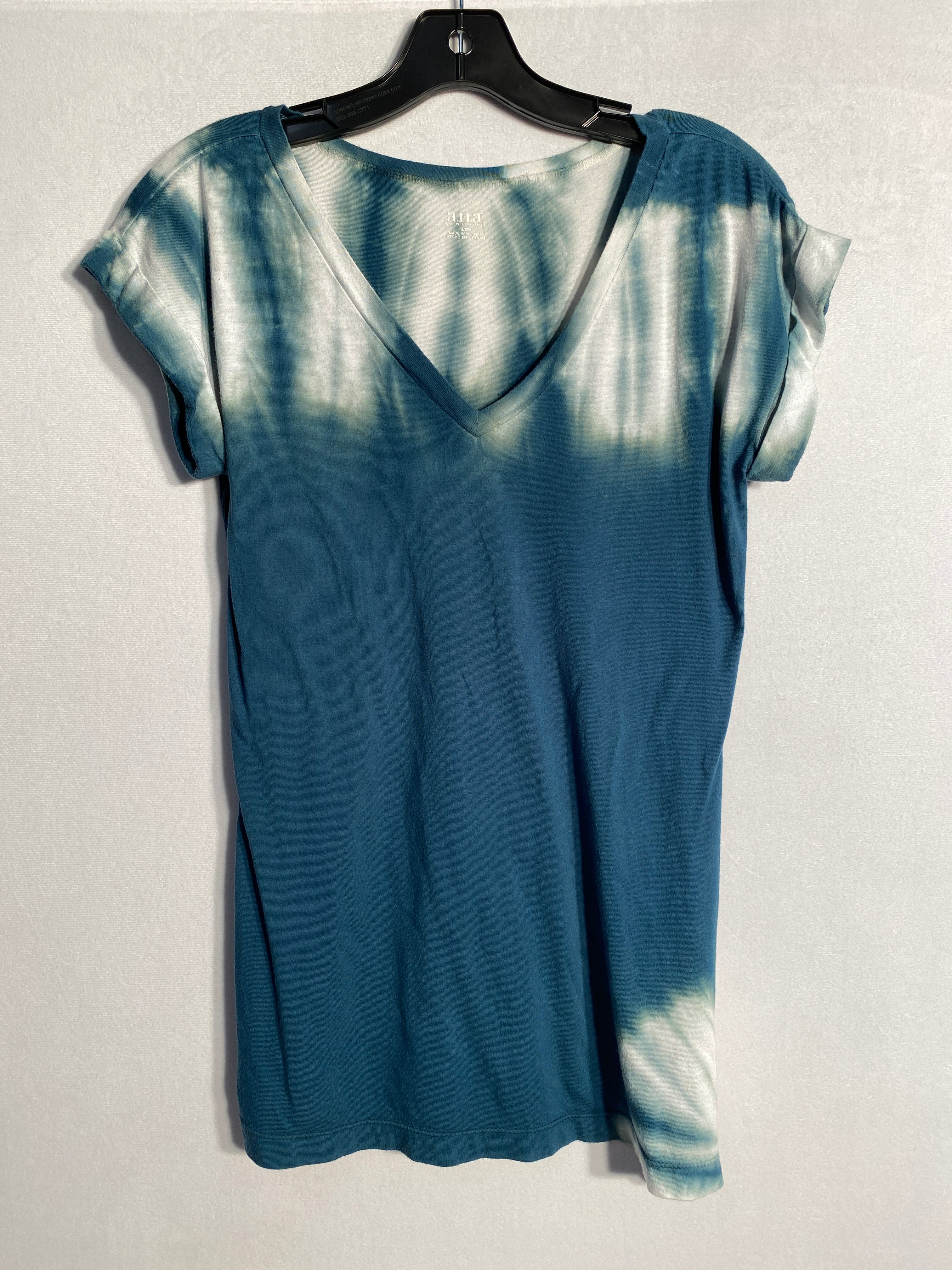 Primary Photo - BRAND: ANA<BR>STYLE: TOP SHORT SLEEVE<BR>COLOR: TIE DYE<BR>SIZE: S<BR>SKU: 313-31328-21971