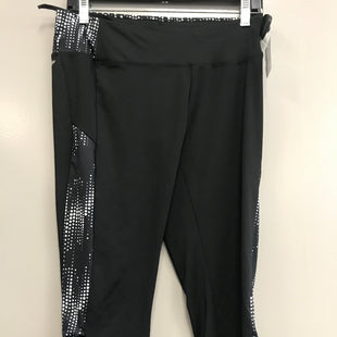 Primary Photo - BRAND: ATHLETIC WORKS STYLE: ATHLETIC CAPRIS COLOR: BLACK SIZE: M SKU: 313-31332-8276