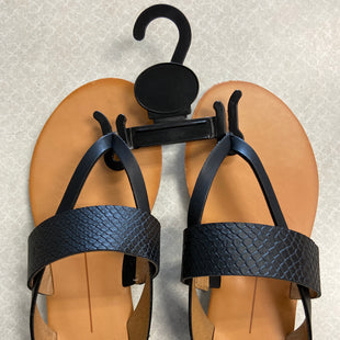 Primary Photo - BRAND: DOLCE VITA STYLE: SANDALS FLAT COLOR: BLACK SIZE: 6 SKU: 313-31328-35112