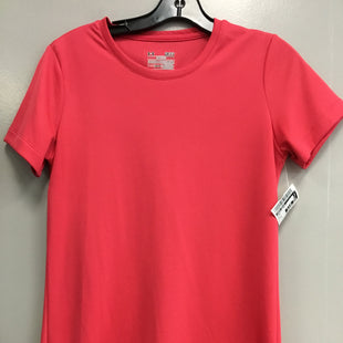 Primary Photo - BRAND: UNDER ARMOUR STYLE: ATHLETIC TOP SHORT SLEEVE COLOR: PINK SIZE: S SKU: 313-31344-18214