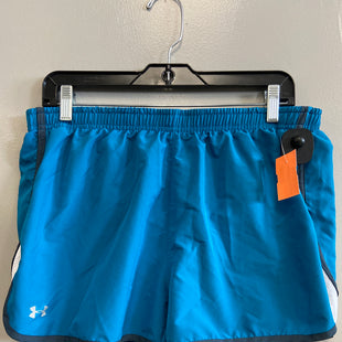 Primary Photo - BRAND: UNDER ARMOUR STYLE: ATHLETIC SHORTS COLOR: BLUE SIZE: XL SKU: 313-31349-3331