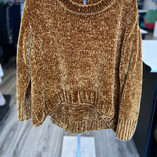 Primary Photo - BRAND: MASSINI STYLE: SWEATER LIGHTWEIGHT COLOR: MUSTARD SIZE: 1X SKU: 313-31332-9266
