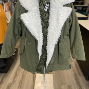 Primary Photo - BRAND: GAP STYLE: COAT LONG COLOR: HUNTER GREEN SIZE: S SKU: 313-31344-19691