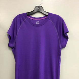 Primary Photo - BRAND: CHAMPION STYLE: ATHLETIC TOP SHORT SLEEVE COLOR: PURPLE SIZE: XXL SKU: 313-31332-8818