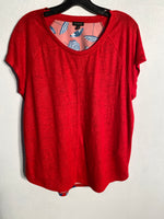 Primary Photo - BRAND: TALBOTS<BR>STYLE: TOP SHORT SLEEVE<BR>COLOR: RED WHITE BLUE<BR>SIZE: M<BR>SKU: 313-31328-21850