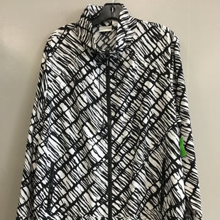 Primary Photo - BRAND: CHICOS STYLE: ATHLETIC JACKET COLOR: BLACK WHITE SIZE: XL SKU: 313-31332-6743