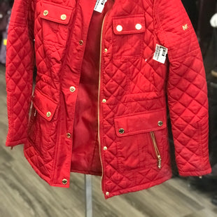 Primary Photo - BRAND: MICHAEL BY MICHAEL KORS STYLE: COAT LONG COLOR: RED SIZE: XS SKU: 313-31344-17813