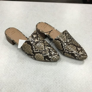 Primary Photo - BRAND: A NEW DAY STYLE: SHOES FLATS COLOR: SNAKESKIN PRINT SIZE: 6.5 SKU: 313-31311-31820
