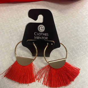 Primary Photo - BRAND:    CLOTHES MENTOR STYLE: EARRINGS COLOR: RED SKU: 313-31344-22205
