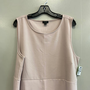 Primary Photo - BRAND: ANN TAYLOR STYLE: TOP SLEEVELESS COLOR: LIGHT PINK SIZE: XL SKU: 313-31354-884