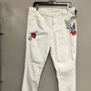 Primary Photo - BRAND: ANN TAYLOR LOFT STYLE: PANTS COLOR: WHITE SIZE: 12 SKU: 313-31344-13329