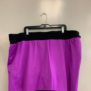 Primary Photo - BRAND:    CLOTHES MENTOR STYLE: ATHLETIC SKIRT SKORT COLOR: PURPLE SIZE: 3X OTHER INFO: L ACTIVE - SKU: 313-31344-17994