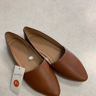 Primary Photo - BRAND: UNIVERSAL THREAD STYLE: SHOES FLATS COLOR: BROWN SIZE: 7.5 SKU: 313-31352-974