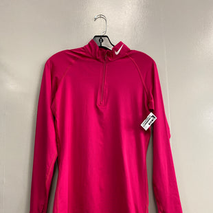 Primary Photo - BRAND: NIKE STYLE: ATHLETIC JACKET COLOR: PINK SIZE: M SKU: 313-31332-9472
