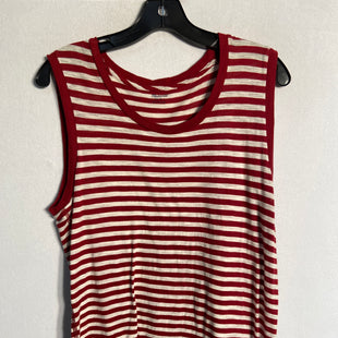 Primary Photo - BRAND: MADEWELL STYLE: TOP SLEEVELESS BASIC COLOR: STRIPED SIZE: S SKU: 313-31332-5312
