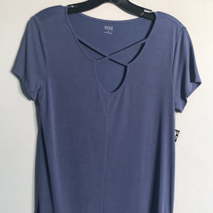 Primary Photo - BRAND: ANA STYLE: TOP SHORT SLEEVE BASIC COLOR: BLUE SIZE: S SKU: 313-31332-5494