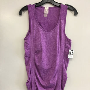 Primary Photo - BRAND: CALIA STYLE: ATHLETIC TANK TOP COLOR: PURPLE SIZE: M SKU: 313-31344-15412