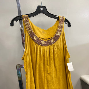 Primary Photo - BRAND: CHARTER CLUB STYLE: TANK TOP COLOR: MUSTARD SIZE: L SKU: 313-31328-35813