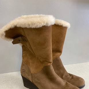 Primary Photo - BRAND: UGG STYLE: BOOTS ANKLE COLOR: BROWN SIZE: 11 SKU: 313-31328-31161