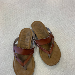 Primary Photo - BRAND:    CLOTHES MENTOR STYLE: SANDALS FLAT COLOR: BROWN SIZE: 6 SKU: 313-31332-10317