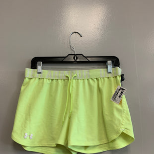 Primary Photo - BRAND: UNDER ARMOUR STYLE: ATHLETIC SHORTS COLOR: NEON SIZE: M SKU: 313-31352-1069
