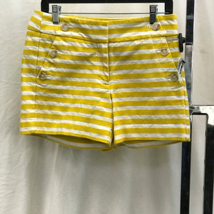 Primary Photo - BRAND: ANN TAYLOR LOFT STYLE: SHORTS COLOR: WHITE YELLOW SIZE: 4 SKU: 313-31344-12279