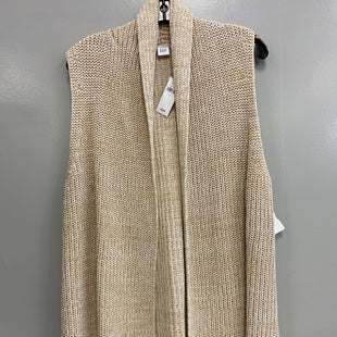 Primary Photo - BRAND: GAP STYLE: SWEATER CARDIGAN LIGHTWEIGHT COLOR: TAN SIZE: L SKU: 313-31311-29281
