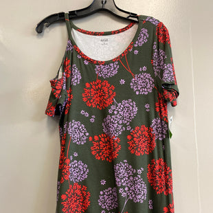 Primary Photo - BRAND: ANA STYLE: TOP SHORT SLEEVE COLOR: FLORAL SIZE: S SKU: 313-31328-32912