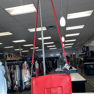 Primary Photo - BRAND: KATE SPADE STYLE: HANDBAG DESIGNER COLOR: RED SIZE: SMALL SKU: 313-31354-43