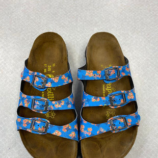 Primary Photo - BRAND: BIRKENSTOCK STYLE: SANDALS FLAT COLOR: FLORAL SIZE: 8 SKU: 313-31332-8138
