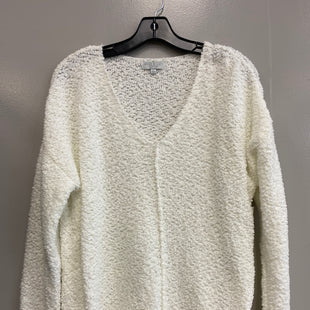 Primary Photo - BRAND:    CLOTHES MENTOR STYLE: SWEATER LIGHTWEIGHT COLOR: WHITE SIZE: L OTHER INFO: WARM & COZY - SKU: 313-31344-18843