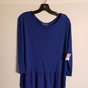 Primary Photo - BRAND: STYLUS STYLE: TOP SHORT SLEEVE COLOR: BLUE SIZE: XL SKU: 313-31343-197