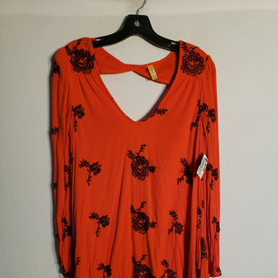 Primary Photo - BRAND: FREE PEOPLE STYLE: DRESS SHORT LONG SLEEVE COLOR: ORANGE SIZE: XS SKU: 313-31328-30030