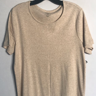 Primary Photo - BRAND: WHITE STAG STYLE: TOP SHORT SLEEVE BASIC COLOR: TAN SIZE: XL SKU: 313-31344-9451