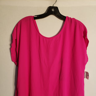 Primary Photo - BRAND: TORRID STYLE: TOP SHORT SLEEVE COLOR: PINK SIZE: XL SKU: 313-31328-9171