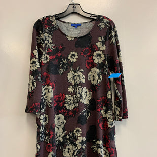 Primary Photo - BRAND: APT 9 STYLE: DRESS SHORT LONG SLEEVE COLOR: FLOWERED SIZE: S SKU: 313-31344-20443