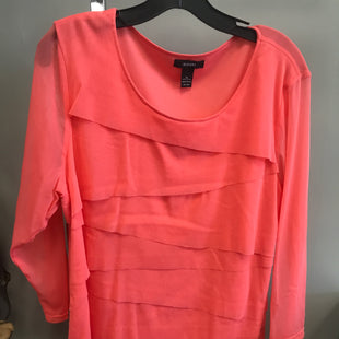 Primary Photo - BRAND: ALFANI STYLE: TOP SHORT SLEEVE COLOR: PEACH SIZE: XL SKU: 313-31328-35686